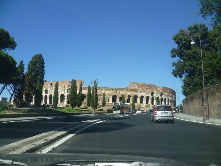 Le ciel de Rome